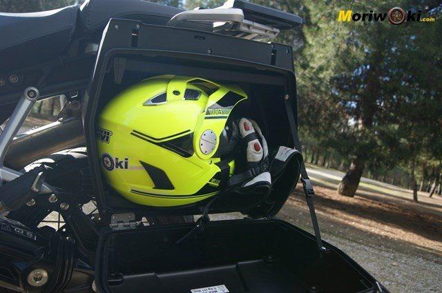 Triumph Explorer XC capacidad maletas