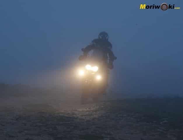 Triumph Explorer XC Niebla marcha