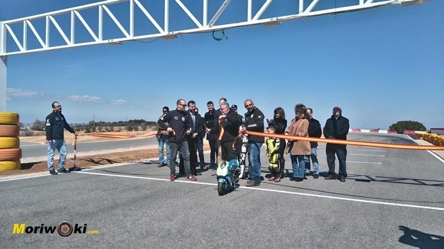 Se inauguró el Circuito DR7 en Tarancón