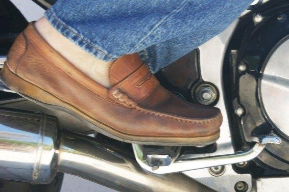 con zapato