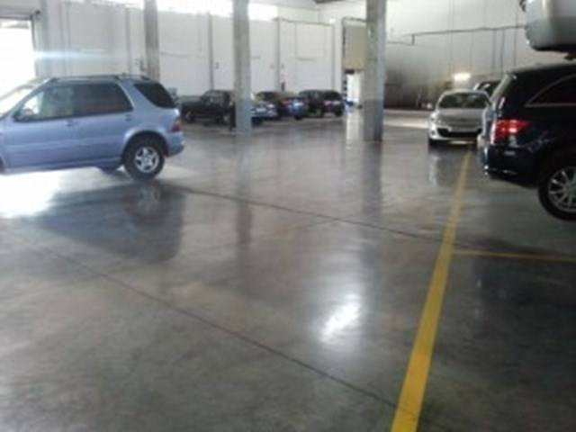 visión motorista suelo pulido