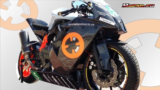 Antonio Maeso nos presenta su moto y su casco para la NW 200