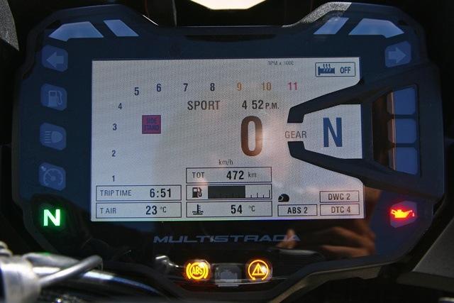Ducati Multistrada 1200 Enduro Cuadro