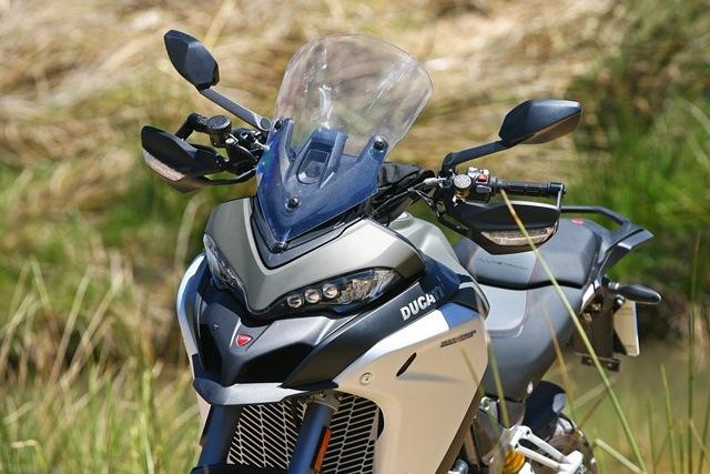 Ducati Multistrada 1200 Enduro carenado espejos