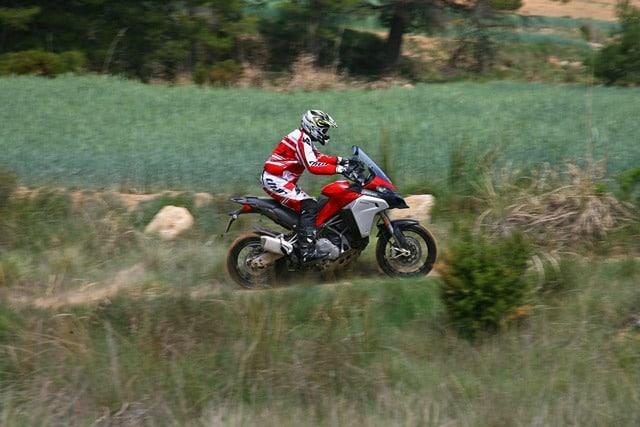 Ducati Multistrada 1200 Enduro ergonomía