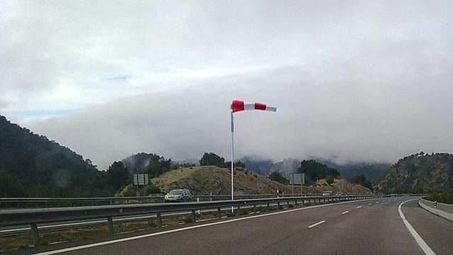 El Viento en moto viento señal