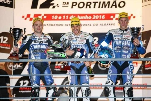 La Resistencia Un sprint interminable equipo Yamaha en podium