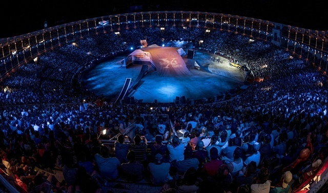 Red Bull X-Fighters Plaza las ventas