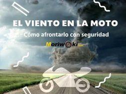 el viento en la moto
