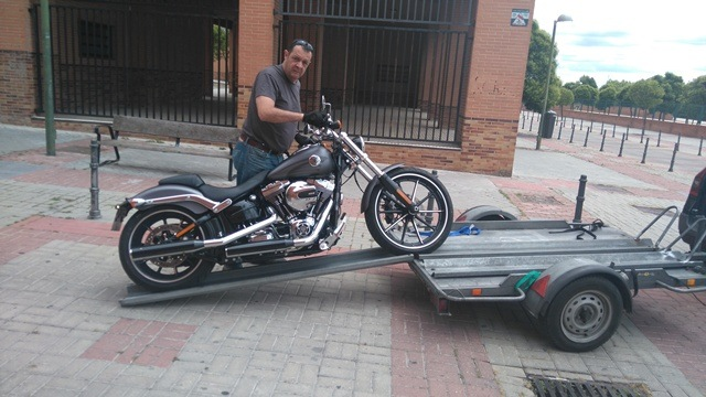 Harley breakout remolque