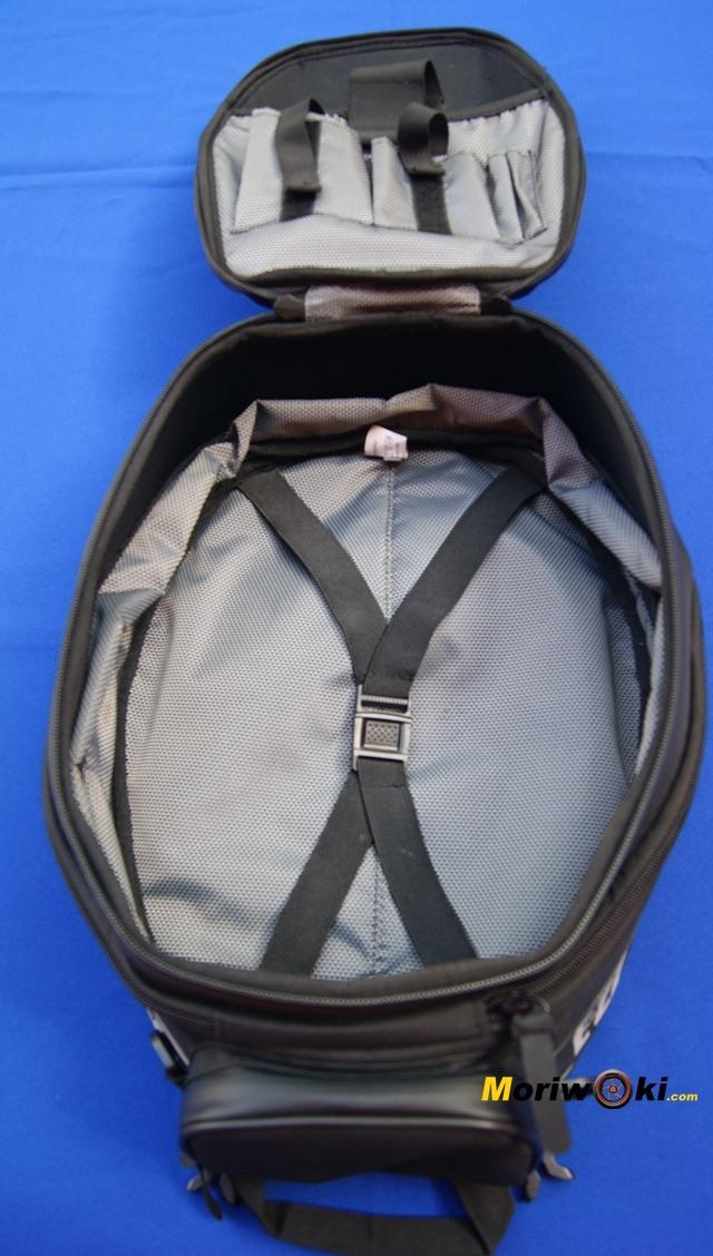 Bolsa shad E22 interior de la bolsa