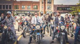 Una forma elegante y motorista de ser solidario: Distinguised Gentleman's Ride 2016