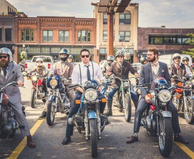 Distinguised Gentleman's Ride 2016