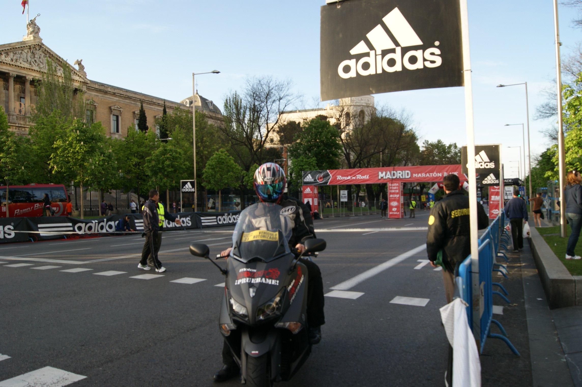 El sindrome Tmax maratón madrid