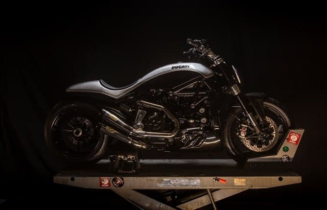 La Ducati XDiavel de Sturgis expuesta