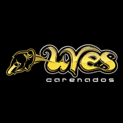 Carenados Uves Logo fondo negro