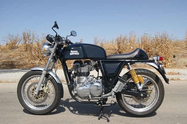 Royal Enfield continental GT Negra
