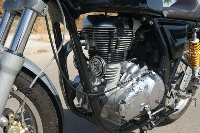 Royal Enfield continental GT motor