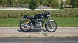 Royal Enfield Continental GT: Una moto de Antes