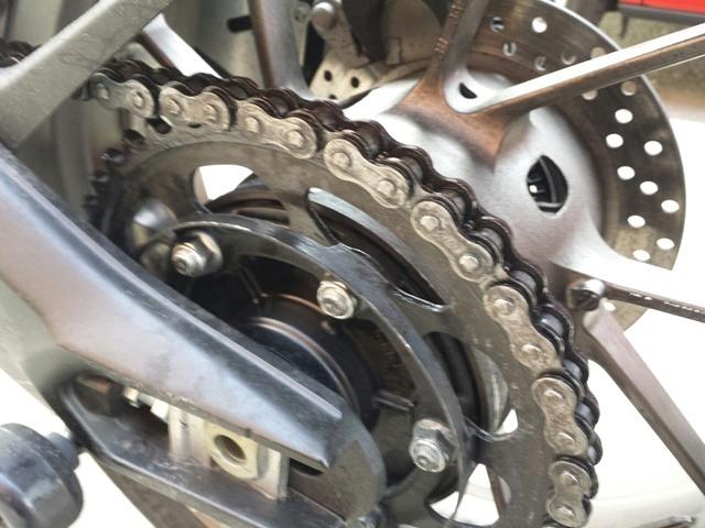 Spray cadena moto Pakelo yamaha tracer