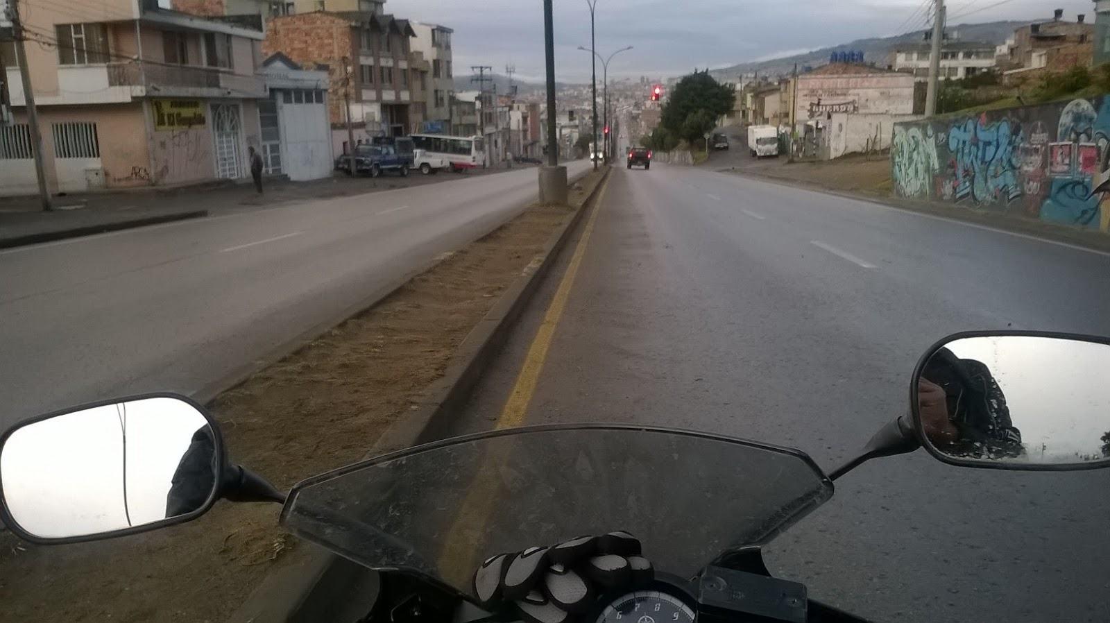 Relato de la moto Premiado por RNE en moto nublado