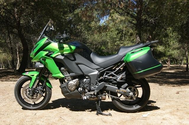 Kawasaki Versys 1000 perfil derecho
