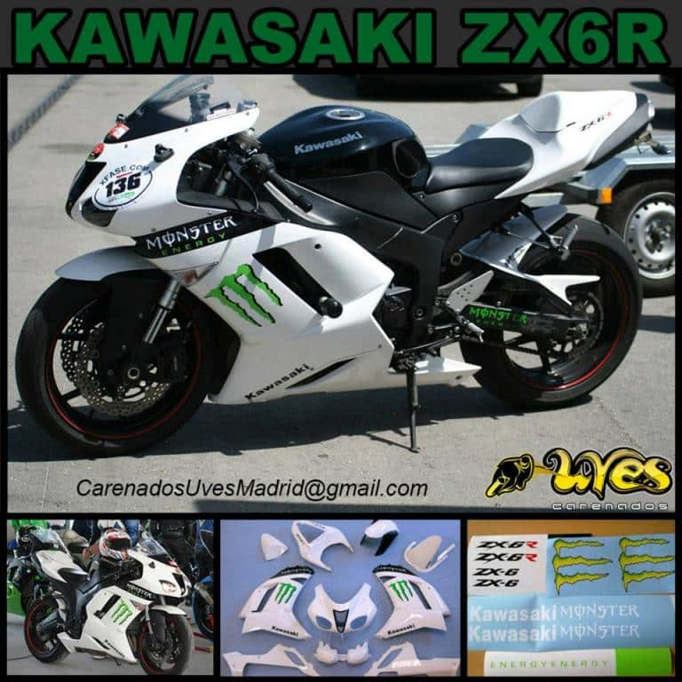 Carenados Uves kawa zx 6