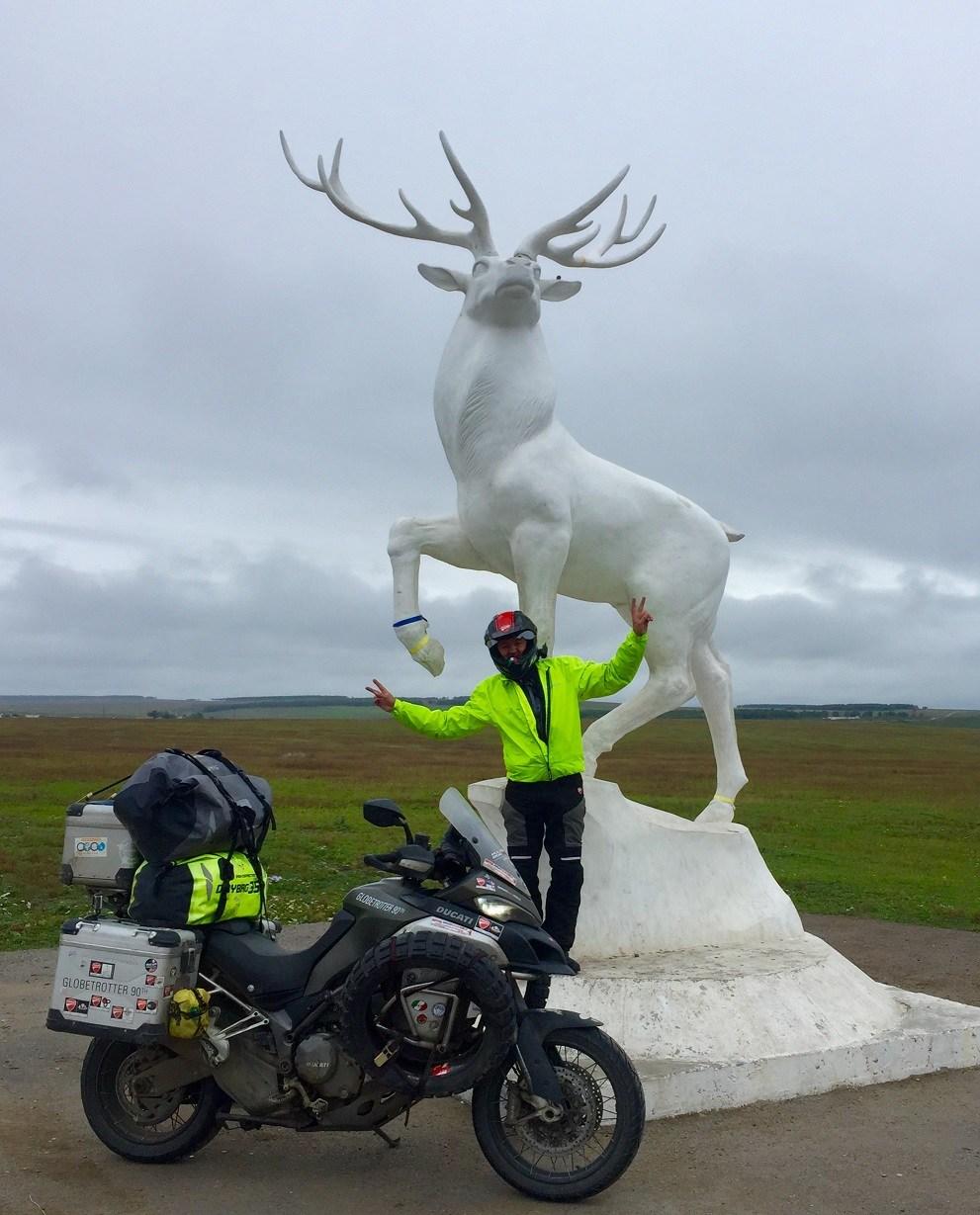 Ducati Multistrada Enduro Globetrotter 90° Siberia