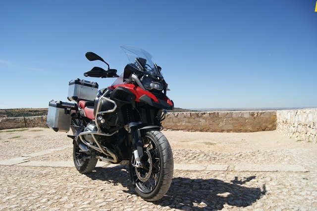 BMW R 1200 GS Adventure Chichon frente