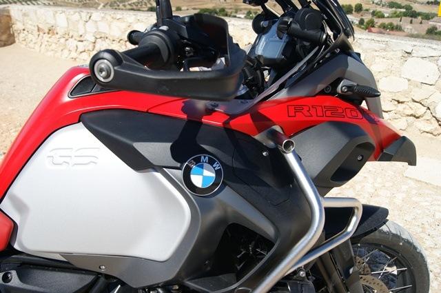 BMW R 1200 GS Adventure Detalle ciudad