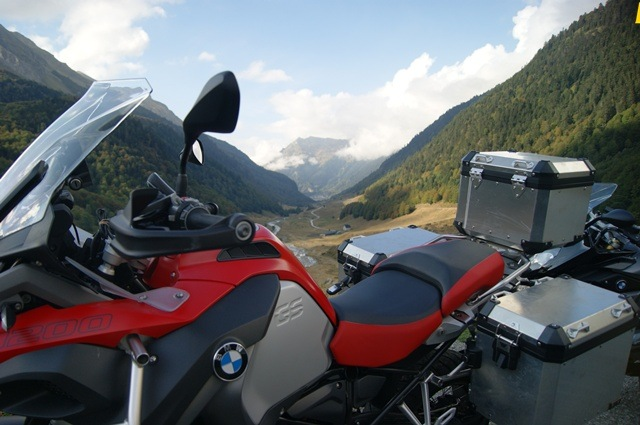 BMW R 1200 GS Adventure Pirineo de fondo