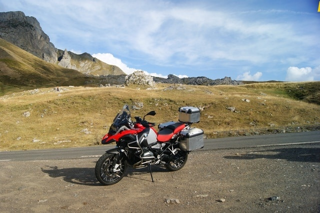 BMW R 1200 GS Adventure Pirineo francés
