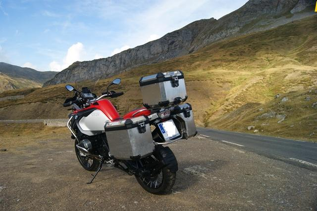 BMW R 1200 GS Adventure detras