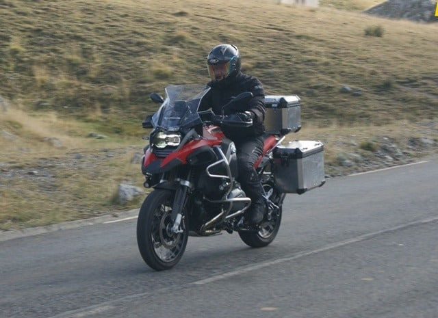 BMW R 1200 GS Adventure en ruta