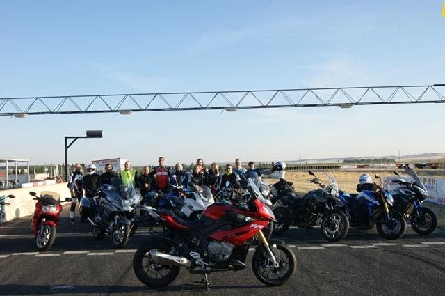 Curso de conducción moto 2016