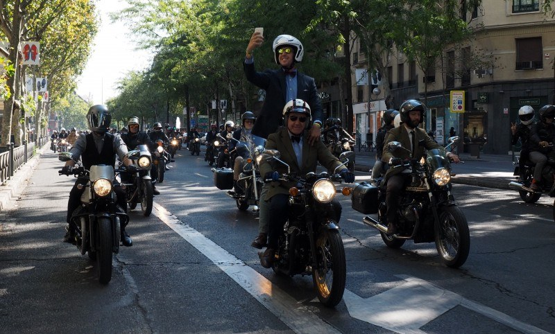 Distinguished Gentleman's Ride 2016 ciudad