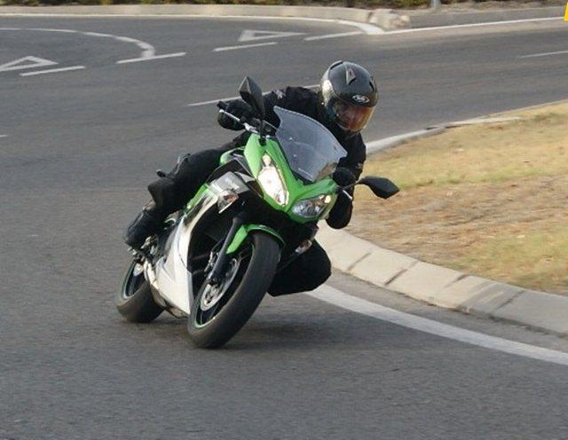 Kawasaki ER6F: Una moto de principiante y medio
