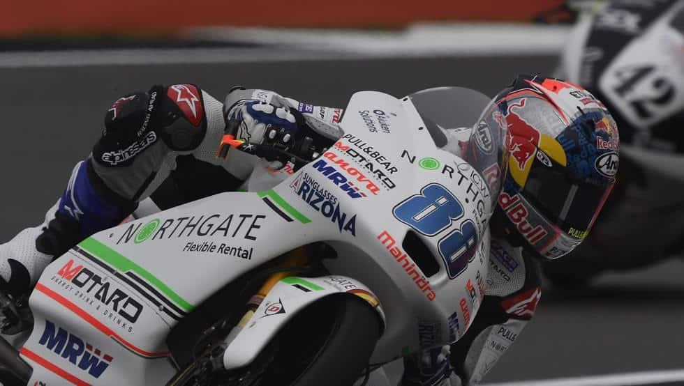 Caidas de motos: Este fin de semana fue Jorge Martín