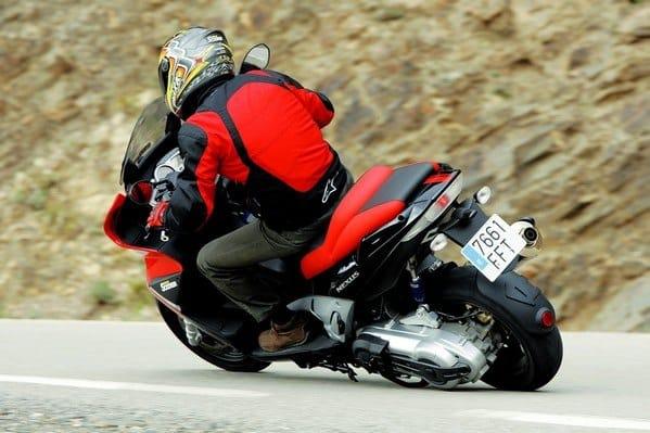 trazada de moto