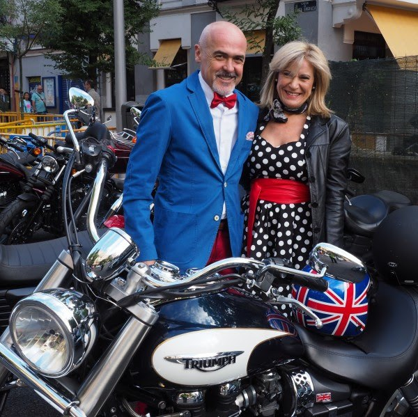 Distinguished Gentleman's Ride 2016 Sean Connery