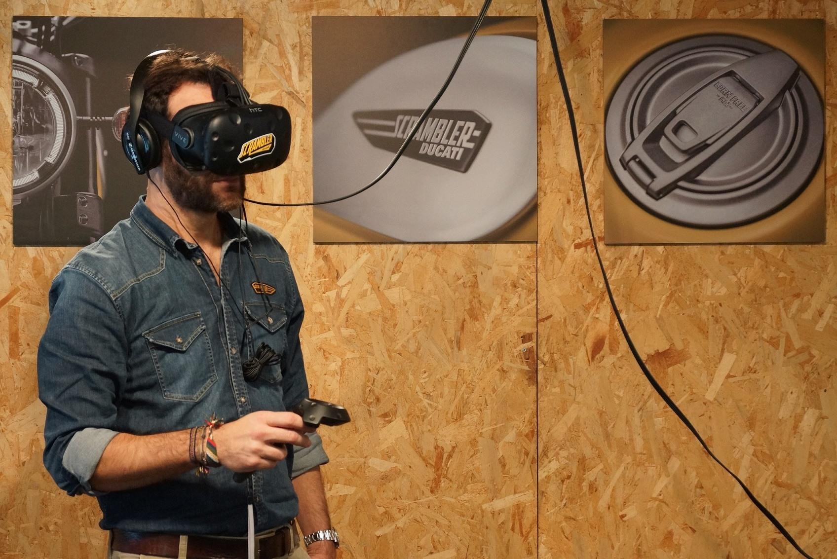 Ducati Scrambler INTERMOT realidad virtual