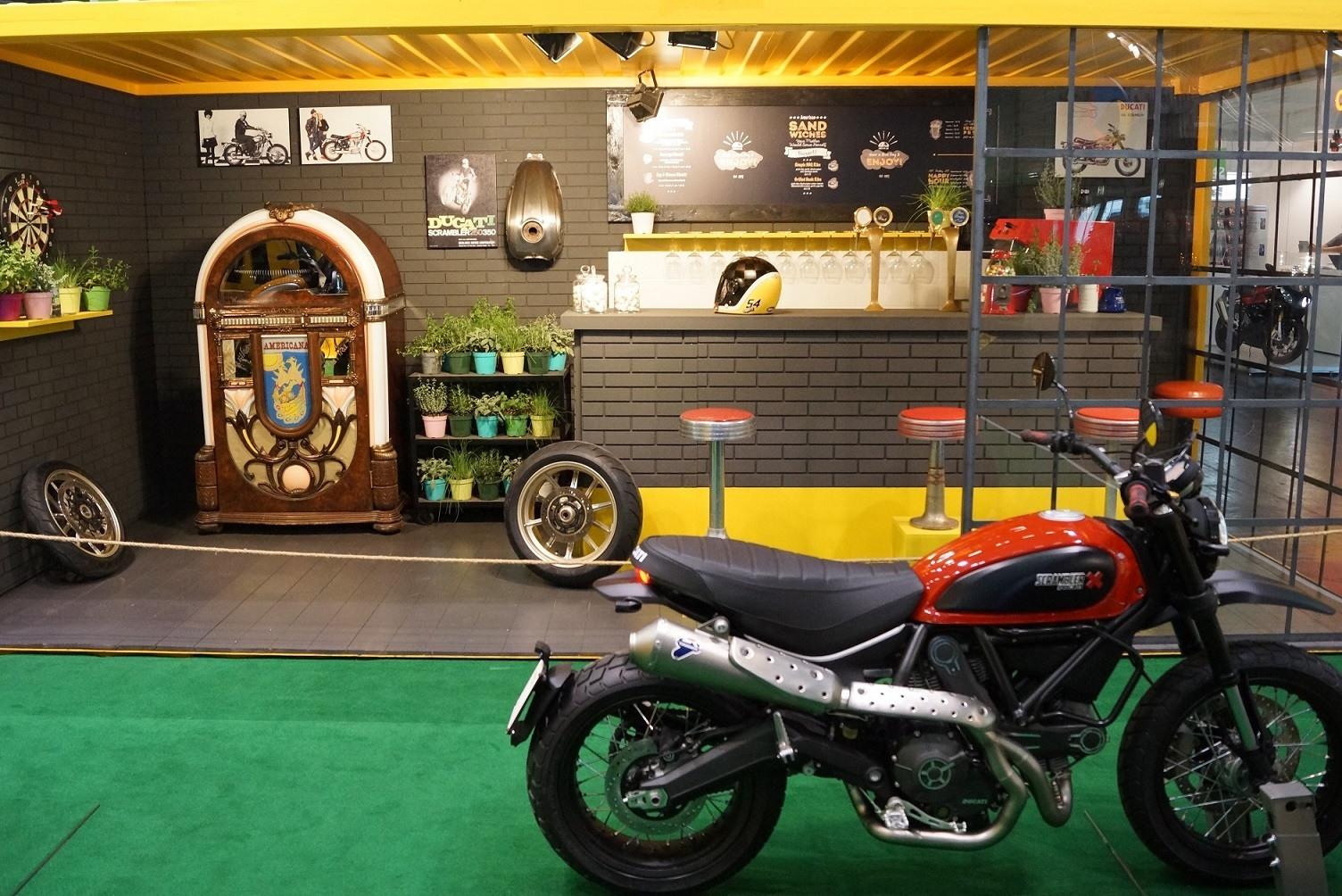 El Área Scrambler protagonista Ducati en Intermot