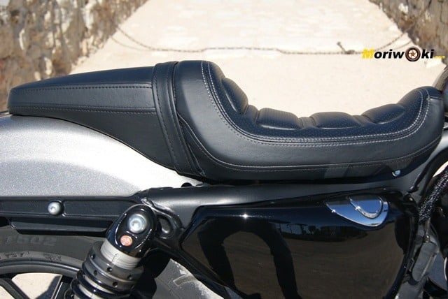 Harley Davidson sportster roadster asiento