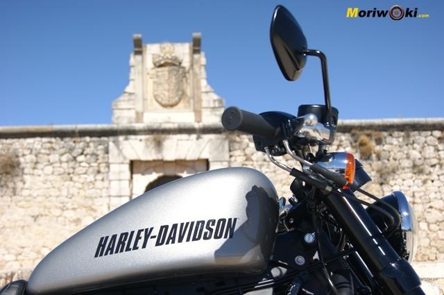 Harley Davidson sportster roadster deposito