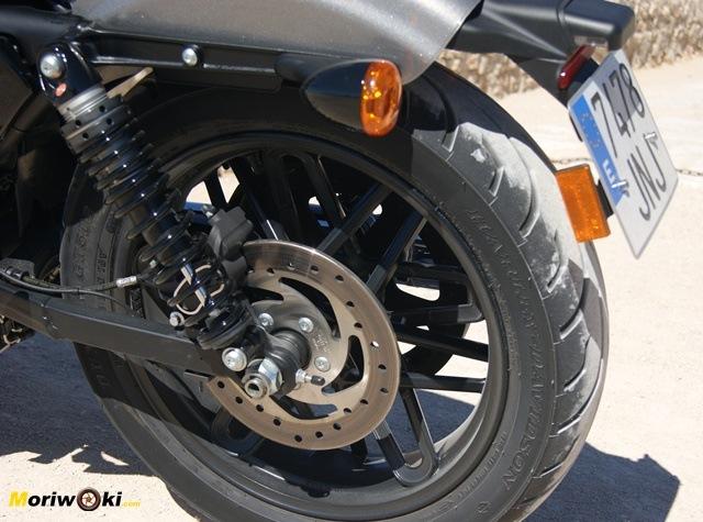 Harley Davidson sportster roadster disco trasero
