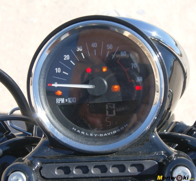 Harley Davidson sportster roadster reloj