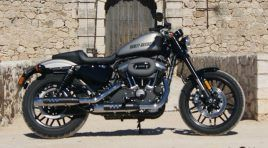 Harley Davidson Sportster Roadster: El Café americano