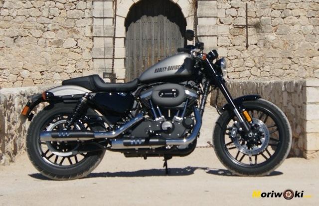 Harley Davidson Sportster Roadster El Cafe Americano