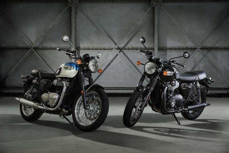 Las nuevas Modern Classic de Triumph se destapan en Colonia