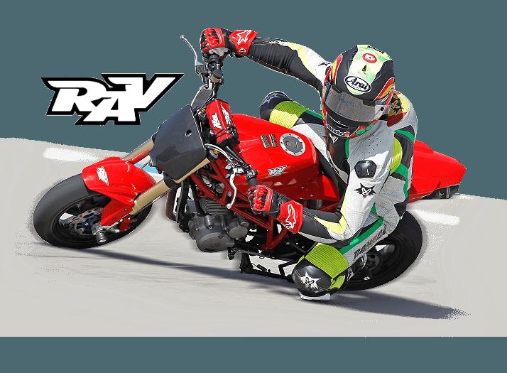 RAV Naked Moto· Circuito Grande jorge martin logo